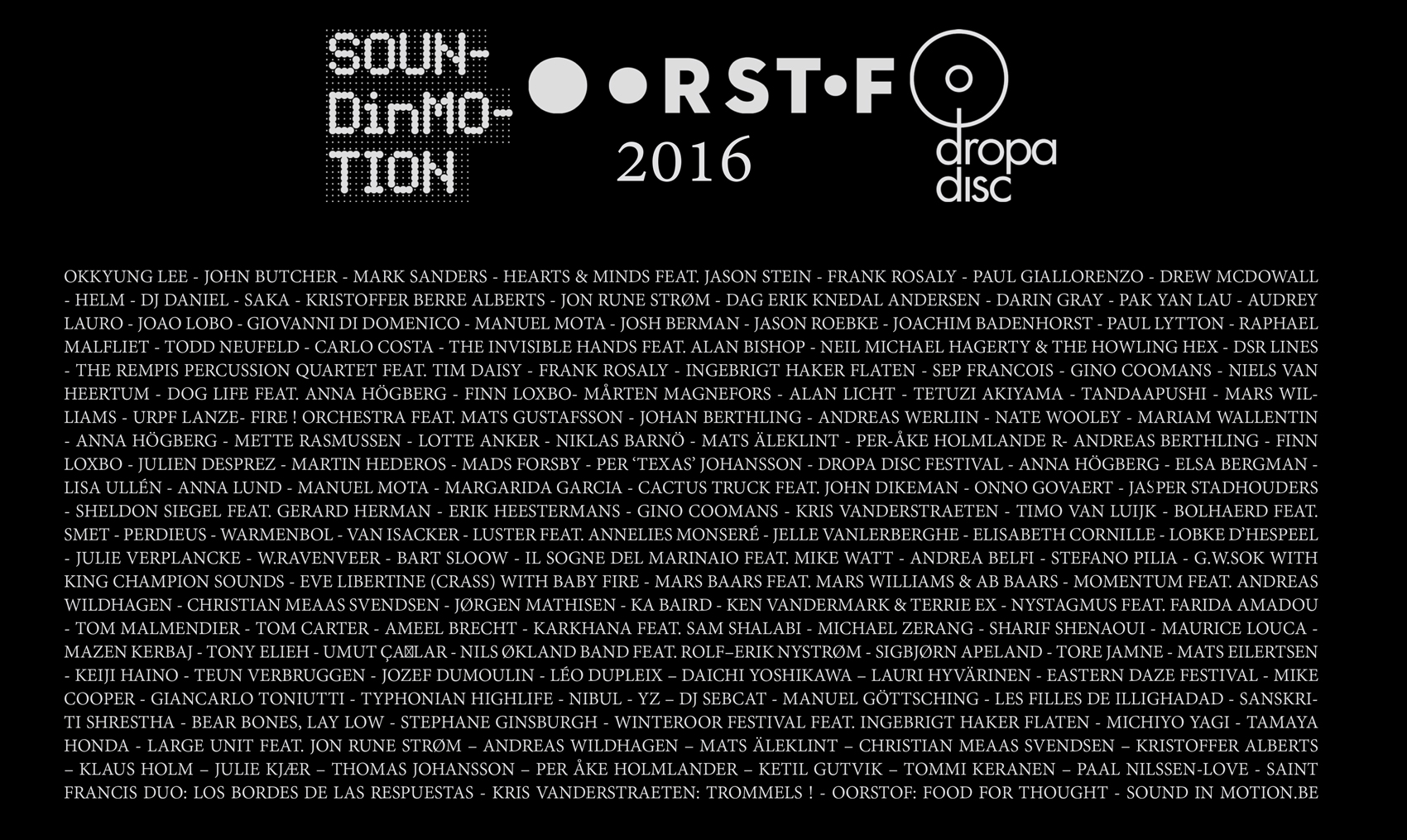 OORSTOF – SiM – DROPA DISC > 2017 PREVIEW