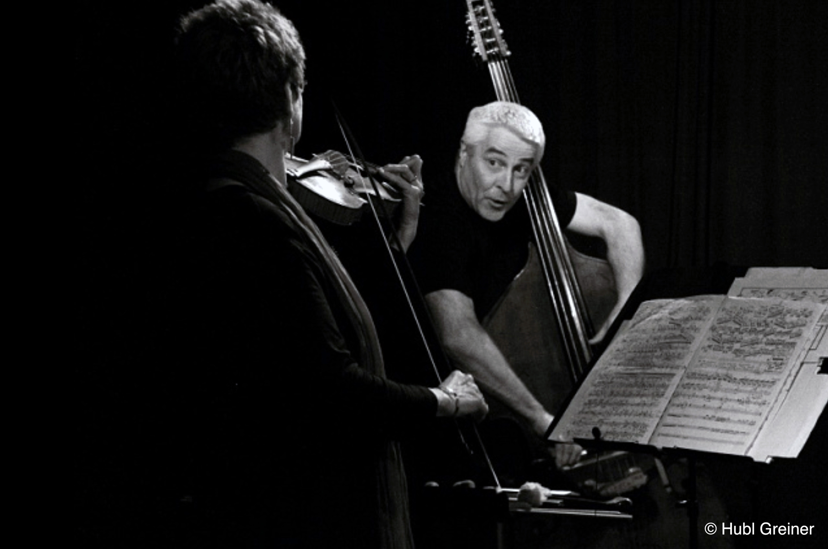 (From) Bach to the Future | Maya Homburger & Barry Guy