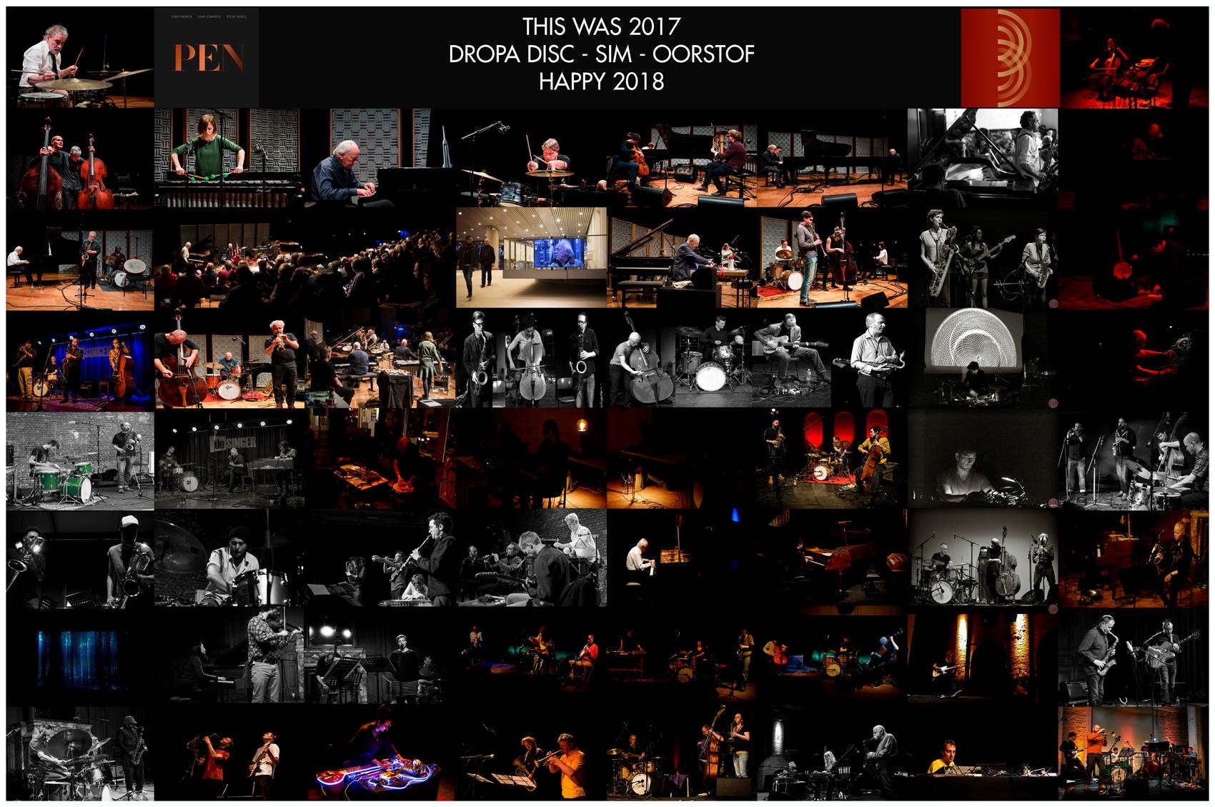 18/01 VERBRUGGEN-DUMOULIN-WOOLEY-HAKER FLATEN + STADHOUDERS' POLYBAND at MNOAD/LE VECTEUR