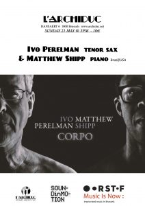 Perelman - Shipp L'Archiduc 21 may