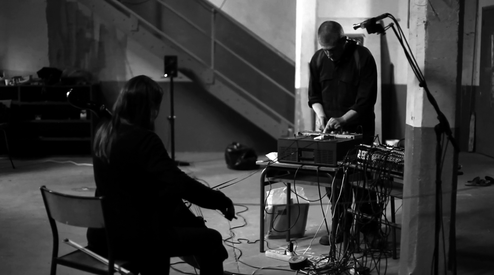 JEROME NOETINGER & AUDE ROMARY + TONY CONRAD: COMPLETELY IN THE PRESENT