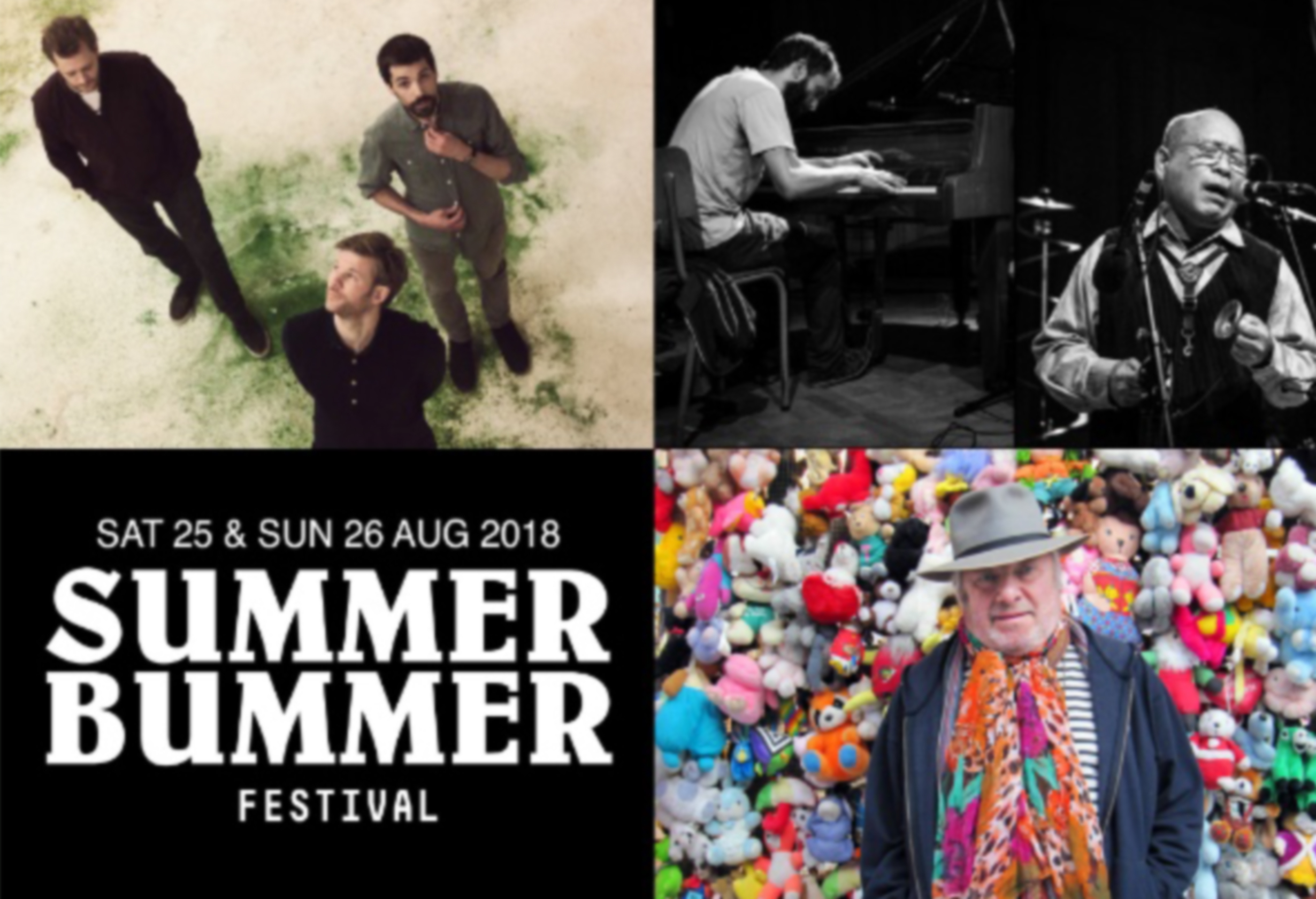 SAKATA-DI DOMENICO + CAMBIEN TRIO – AB SALON 02/5/2018 – SUMMER BUMMER FESTIVAL 25 & 26/8/2018